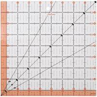 Fiskars Quilting Ruler-8.5inX8.5in