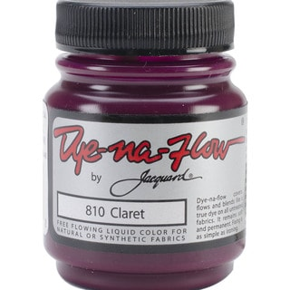 Jacquard Dye-Na-Flow Liquid Color 2-1/4 Ounces-Claret
