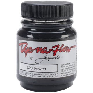 Jacquard Dye-Na-Flow Liquid Color 2-1/4 Ounces-Pewter