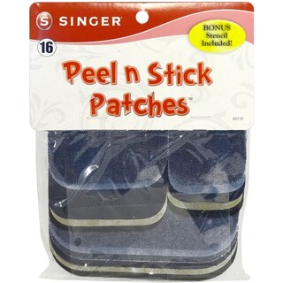 Peel & Stick Patch Combo Kit -Denim & Twill