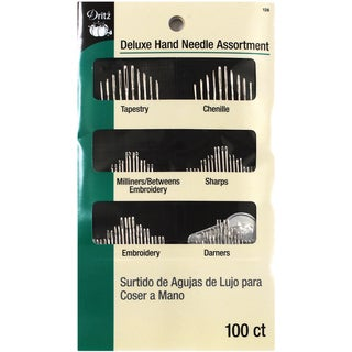 Deluxe Hand Needle Assortment-100/Pkg