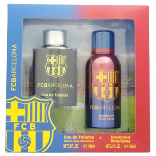 Air-Val International FC Barcelona Men's 2-piece Gift Set