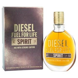 Diesel Fuel Life Spirit Men's 1.7-ounce Eau de Toilette Spray