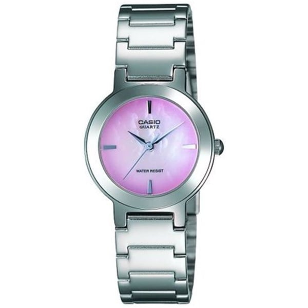 Casio Women's LTP-1191A-4C 'Classic' Stainless Steel Watch - PInk