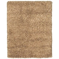 Grand Bazaar Tufted Wool Pile Melrose Rug in Caramel - 8' x 11'