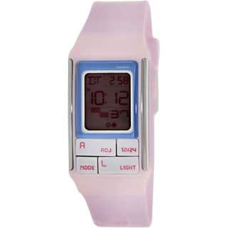 Casio Women's Core LDF51-4A Pink Resin Quartz Watch with Digital Dial https://ak1.ostkcdn.com/images/products/9196415/P16368968.jpg?impolicy=medium