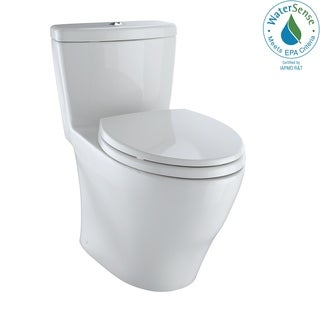 Toto Aquia Colonial White 1.6-GPF Elongated Toilet