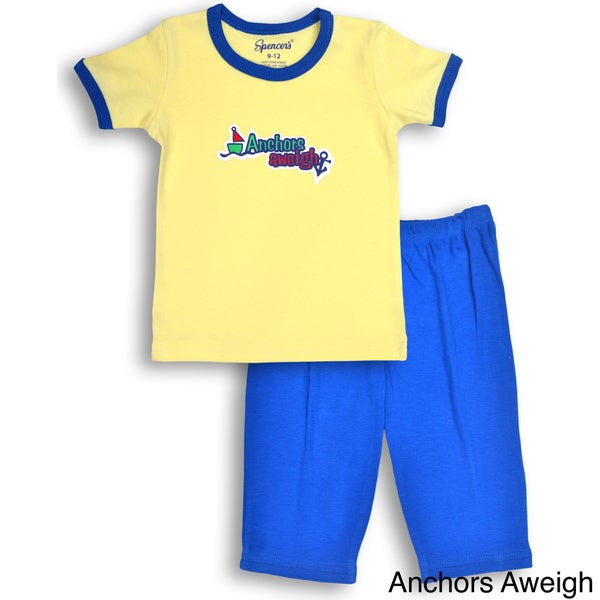Spencer's Boys' Sailboat Tee and Pants Set