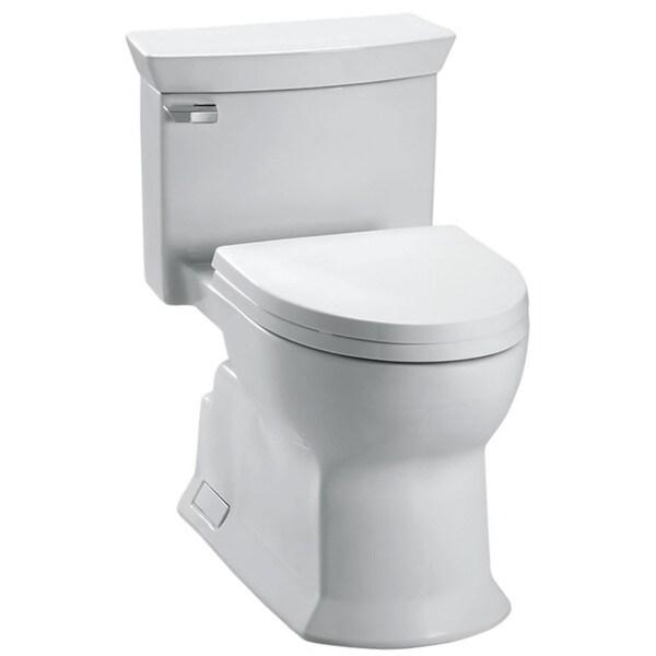 Toto Eco Soiree One-piece Cotton Toilet - Free Shipping ...