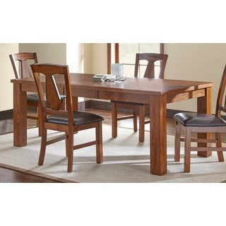 Greyson Living Lansing Burnished Medium Oak 78-inch Dining Table