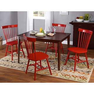 Simple Living Clarissa 5-piece Transitional Dining Set