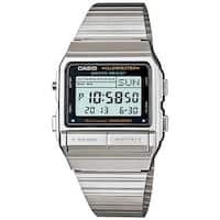 Casio Men's DB-380-1DF 'Classic' Digital Stainless Steel Watch - black