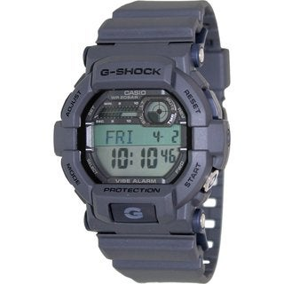 Casio Men's G-Shock GD350-8 Grey Resin Quartz Watch with Digital Dial