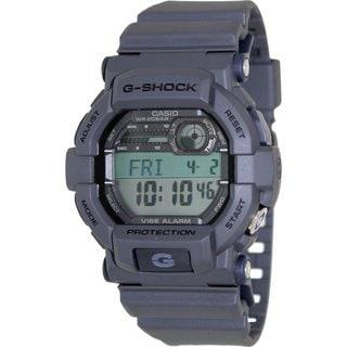 Casio Men's G-Shock GD350-8 Grey Resin Quartz Watch with Digital Dial
