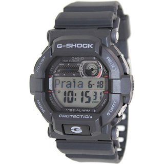 Casio Men's G-Shock GD350-1D Grey Resin Quartz Watch with Digital Dial