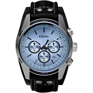 Fossil Men's CH2564 Black Leather Quartz Watch