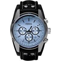 Fossil Men's CH2564 Black Leather Quartz Watch