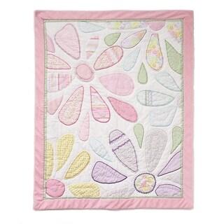 Nurture Imagination Crazy Daisy Floral Quilt