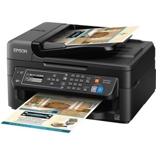 Epson WorkForce 2630 Inkjet Multifunction Printer - Color - Plain Pap