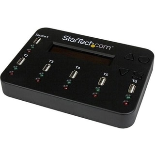StarTech.com Standalone 1:5 USB Flash Drive Duplicator and Eraser - F