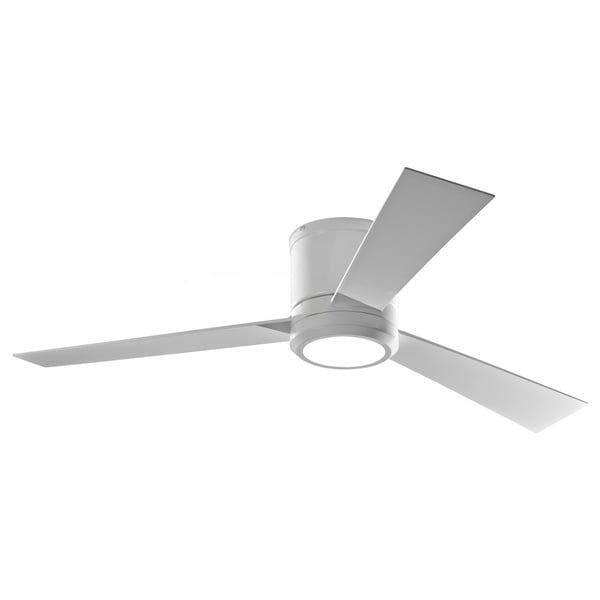 Monte Carlo Monte Carlo Clarity Rubberized White 52-inch LED Ceiling Fan