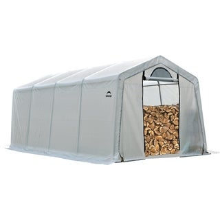 ShelterLogic 90397 Clear PE Cover Seasoning Shed