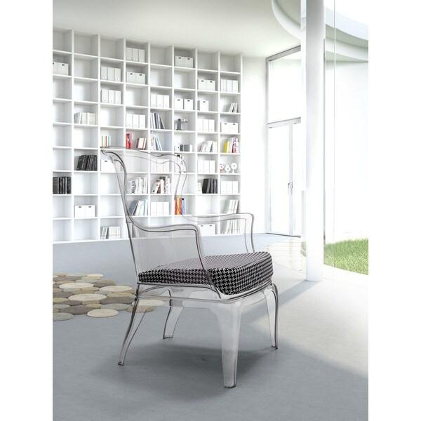 Porch & Den Houndstooth Pattern Cushion