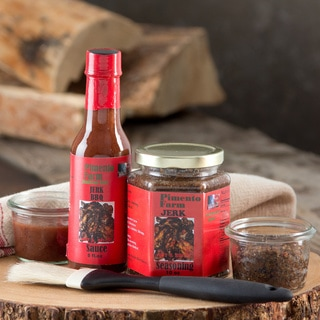 Pimento Farm Jerk Seasoning and Jerk BBQ Sauce (Set of 4)