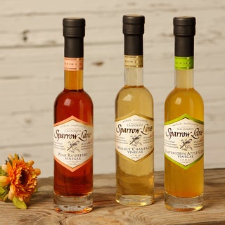 Sparrow Lane Fruits of the Valley Vinegar Collection (Set of 3)