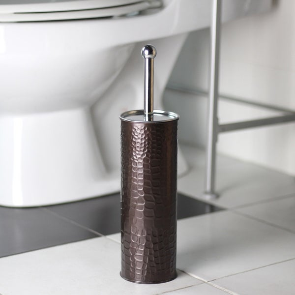 Oil Rubbed Bronze Toilet Brush Holder With