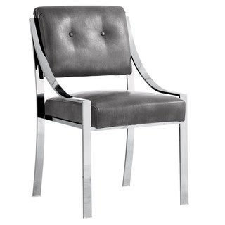 Sunpan 'Club' Savoy Grey Nobility Dining Chair