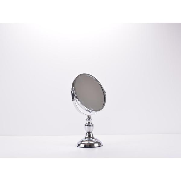 Chrome-plated Countertop Vanity Mirror - Chrome