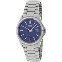 Casio Men's MTP-1183A-2A 'Classic' Stainless Steel Watch - BLue