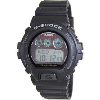 Casio Men's G-Shock G6900-1 Black Resin Quartz Watch with Digital Dial