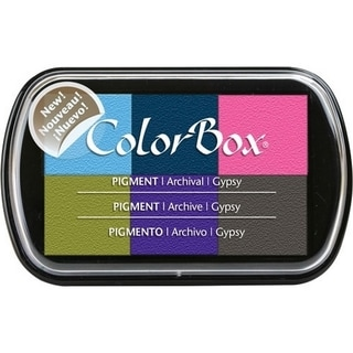 ColorBox Pigment Ink Pad 6 Colors-Gypsy