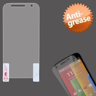 INSTEN Clear Matte Anti-grease Scratch Free Screen Protector for Motorola Moto G