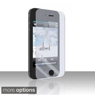INSTEN Clear Anti-glare Reinforced Glass Screen Protector for Apple iPhone 4 4S