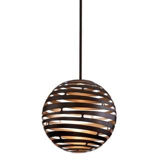 Corbett Lighting Tango 1-light Bronze Large Pendant