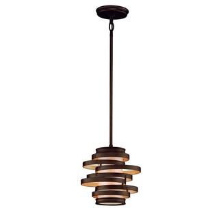 Corbett Lighting Vertigo 1-light Bronze Mini Pendant