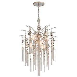Corbett Lighting Bliss 6 + 1-light Topaz Pendant