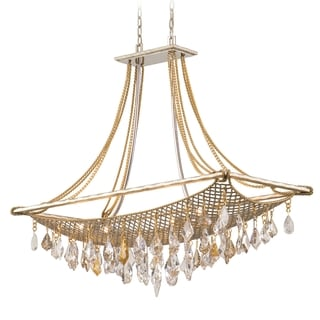 Corbett Lighting Barcelona 8-light Silver Island