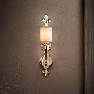Corbett Lighting Esquire 1-light Nickel Wall Sconce