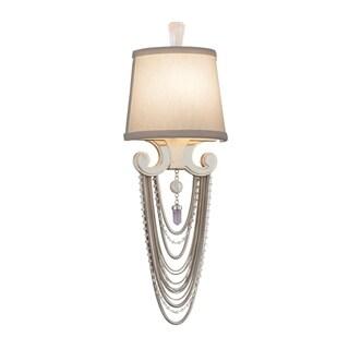 Corbett Lighting Flirt 1-light Silver Wall Sconce