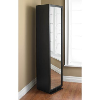 Sunpan Joshua Revolving Mirror and Bookshelf