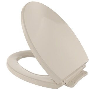 Toto SoftClose Non Slamming, Slow Close Elongated Toilet Seat and Lid SS114#03 Bone