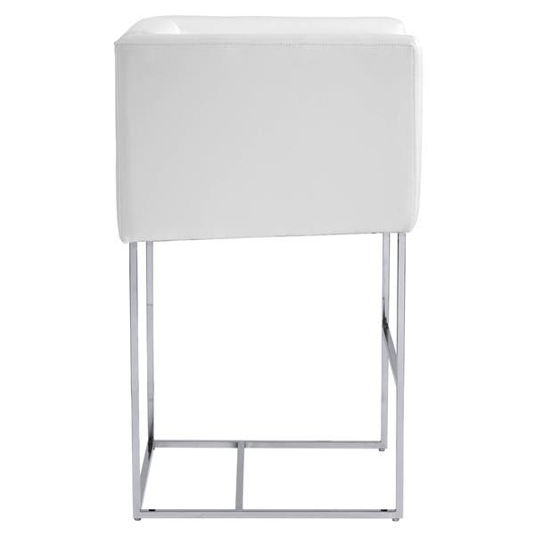 Brilliant Shop Sunpan Club Agency Grey Contemporary Bar Stool Free Caraccident5 Cool Chair Designs And Ideas Caraccident5Info