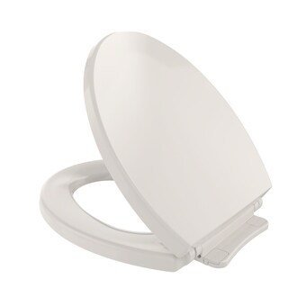 Toto SoftClose Non Slamming, Slow Close Round Toilet Seat and Lid SS113#12 Sedona Beige