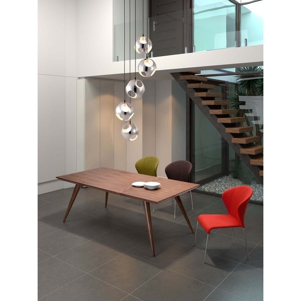 zuo stockholm hardwood dining table