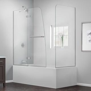 DreamLine Aqua Ultra 57 to 60 in. W x 30 in. D x 58 in. H Hinged Tub Door