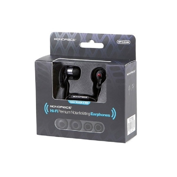 47561741257 Shop Monoprice Hi-fi Premium Noise Isolating Earphones - Free ...